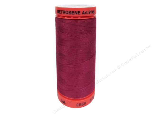 Mettler Metrosene All Purpose Thread 547 yd. #869 Pomegranate