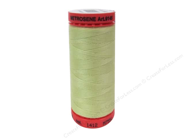 Mettler Metrosene All Purpose Thread 547 yd. #1412 Lemon Frost