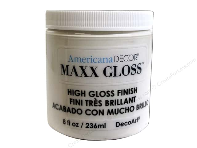 Decoart Americana Decor Maxx Gloss 8 oz. Ceramic Tile