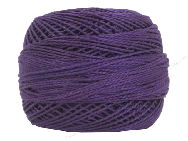 DMC Pearl Cotton Ball Size 8 #552 Medium Violet (10 yards)