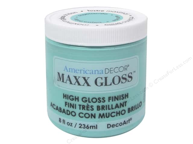 Decoart Americana Decor Maxx Gloss 8 oz. Aqua Water