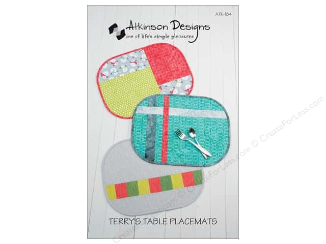 Atkinson Designs Terry's Table Placemats Pattern