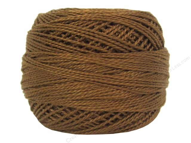 DMC Pearl Cotton Ball Size 8 #434 Light Brown (10 balls)