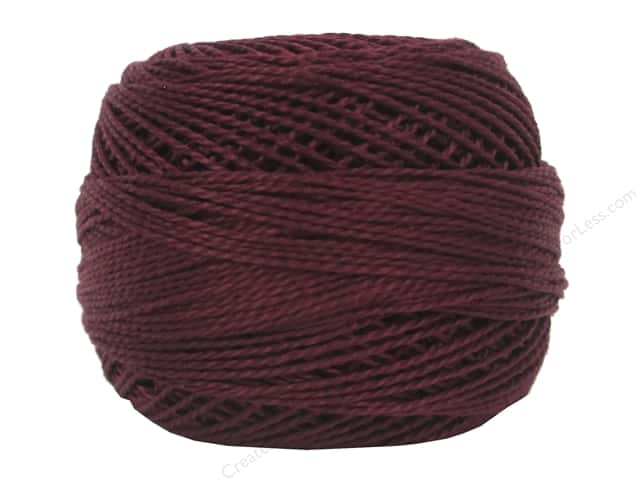 DMC Pearl Cotton Ball Size 8 #902 Very Dark Garnet (10 balls)