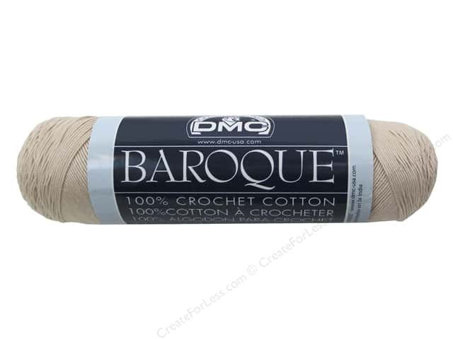 DMC Baroque Crochet Cotton Thread 416 yd. Ecru