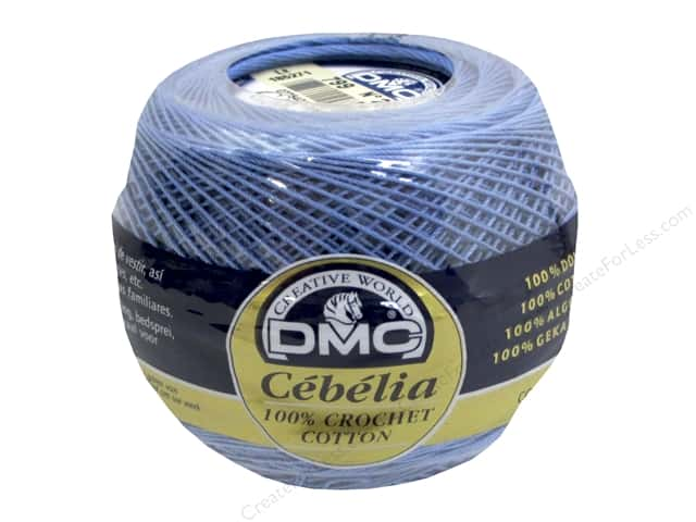 DMC Cebelia Crochet Cotton Size 20 #799 Horizon Blue