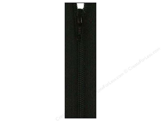 Atkinson Designs Zipper by YKK 22 in. Basic Black
