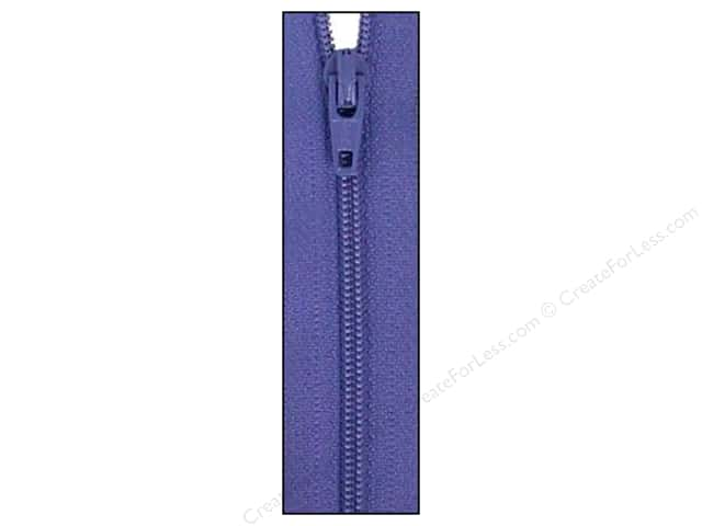 Atkinson Designs Zipper by YKK 22 in. Periwinkle