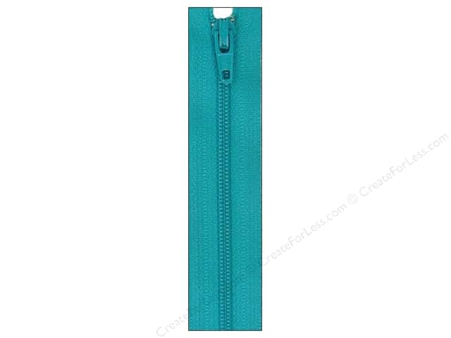 Atkinson Designs Zipper by YKK 22 in. Turquoise Splash (6 pieces)