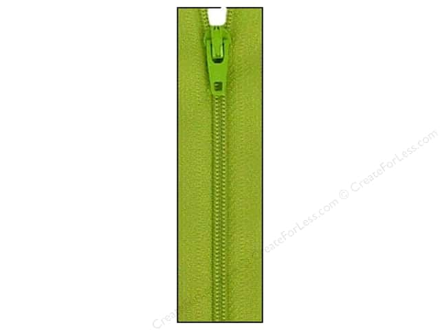 Atkinson Designs Zipper by YKK 22 in. Kiwi (6 pieces)