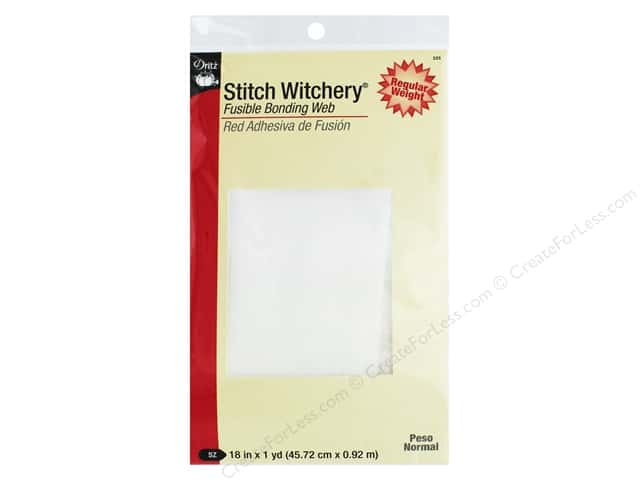 Stitch Witchery Fusible Bonding Web by Dritz Regular 18 x 36 in.