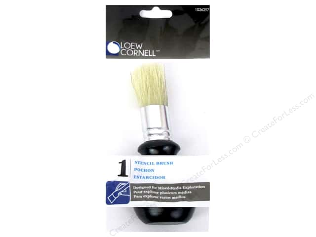 Loew Cornell Paint Accessories Stencil Brush Bulb Handle