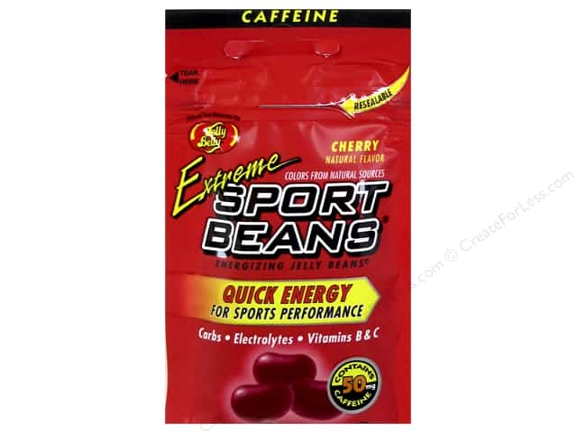 Jelly Belly Sports Beans 1oz Extreme Cherry