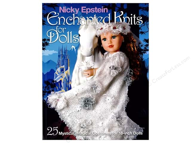 Sixth & Spring Enchanted Knits For Dolls Book