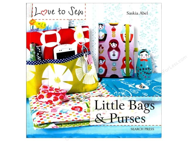 Search Press Love To Sew Little Bags & Purses Book