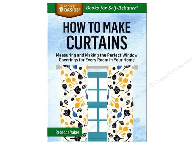 Storey Publications How To Make Curtains Book