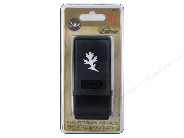 Sizzix Paper Punch Medium Oak Leaf by Tim Holtz