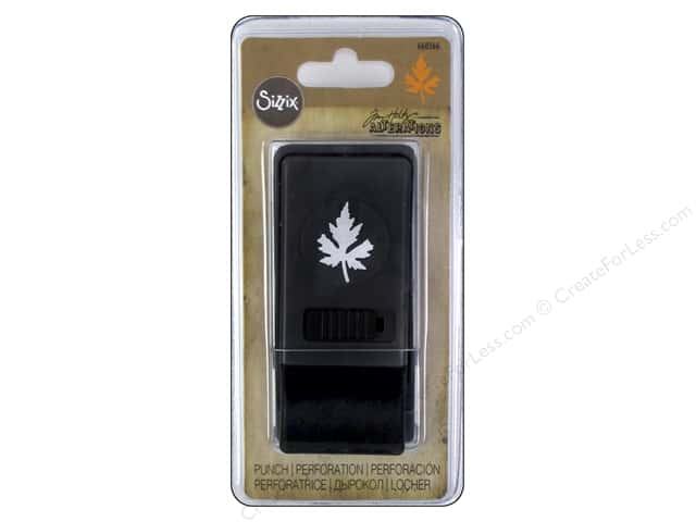Sizzix Paper Punch Medium Maple Leaf by Tim Holtz