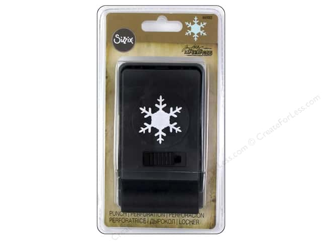 Sizzix Paper Punch Large Snowflake by Tim Holtz