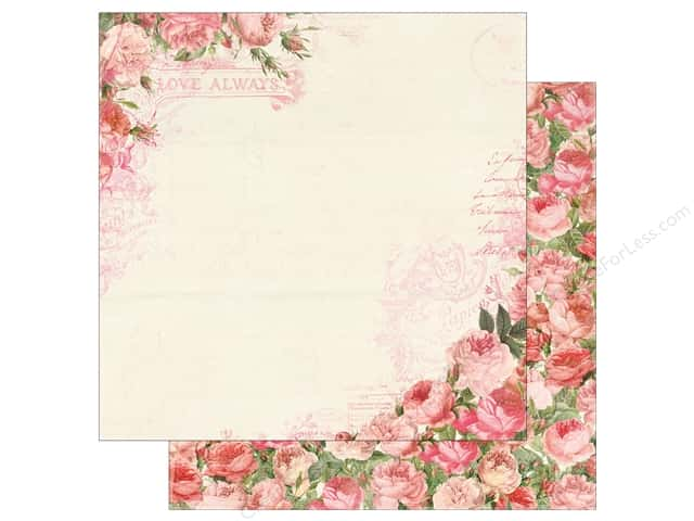Authentique 12 x 12 in. Paper Adore Always (25 sheets)
