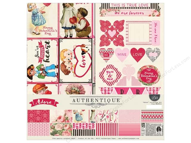 Authentique 12 x 12 in. Adore Collection Kit