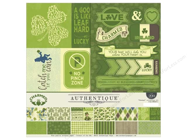 Authentique 12 x 12 in. Charmed Collection Kit