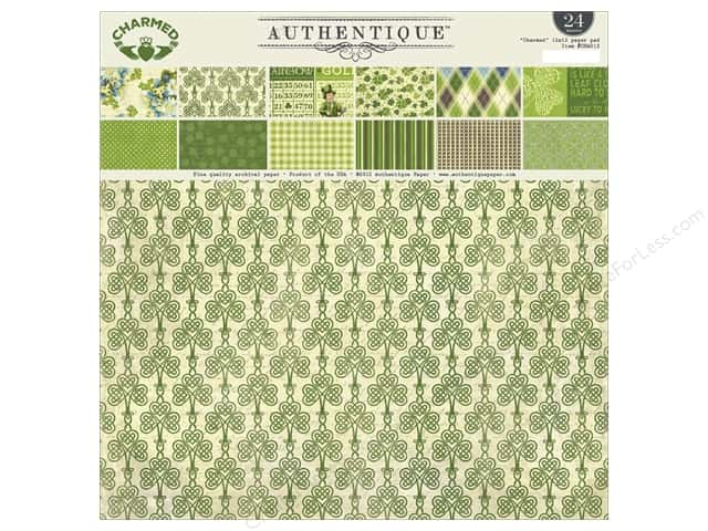 Authentique 12 x 12 in. Paper Pad Charmed Collection
