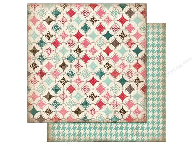 Carta Bella 12 x 12 in. Paper Home Sweet Home Handmade Quilt (25 sheets)