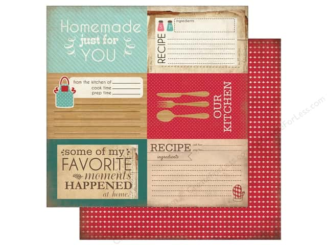 Carta Bella 12 x 12 in. Paper Home Sweet Home 4 x 6 Journaling Cards (25 sheets)