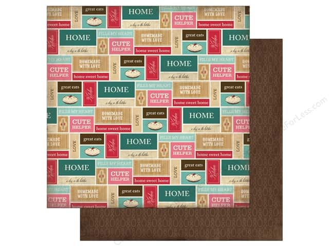 Carta Bella 12 x 12 in. Paper Home Sweet Home Kitchen Labels (25 sheets)