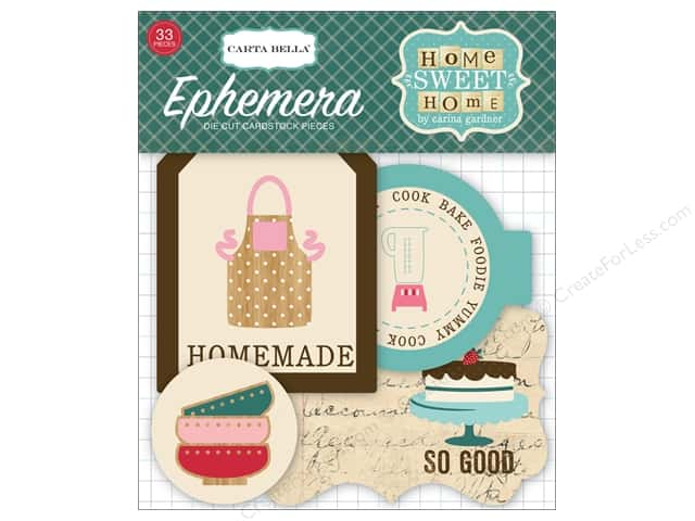 Carta Bella Ephemera Home Sweet Home