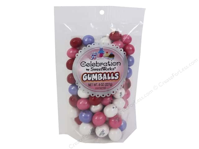 SweetWorks Celebration Gumballs 8 oz. Conversation