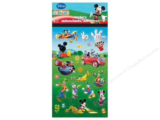 SandyLion Sticker Standard Disney Mickey The Gang