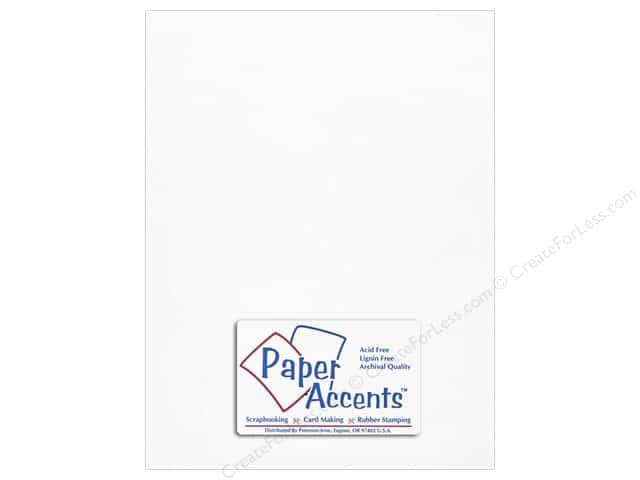 Onion Skin Paper 8 1/2 x 11 in. White by Paper Accents (25 sheets)