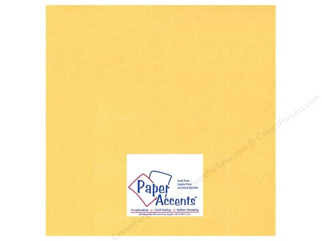 Paper Accents Pearlized Paper 12 x 12 in. #885 22kt Gold 5 pc.