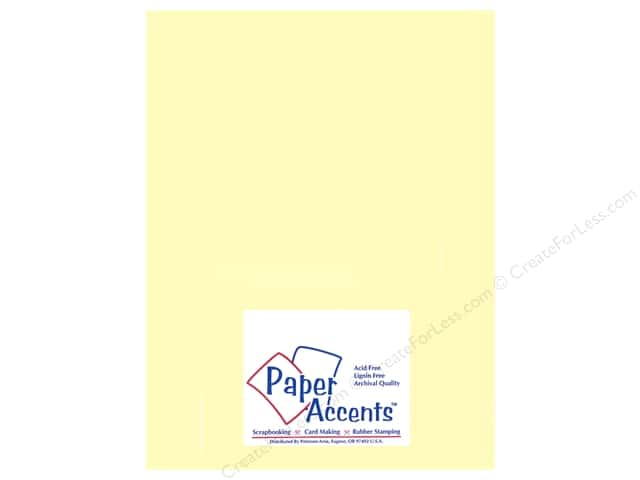 Paper Accents Vellum 8 1/2 x 11 in. #935 Light Yellow (25 sheets)