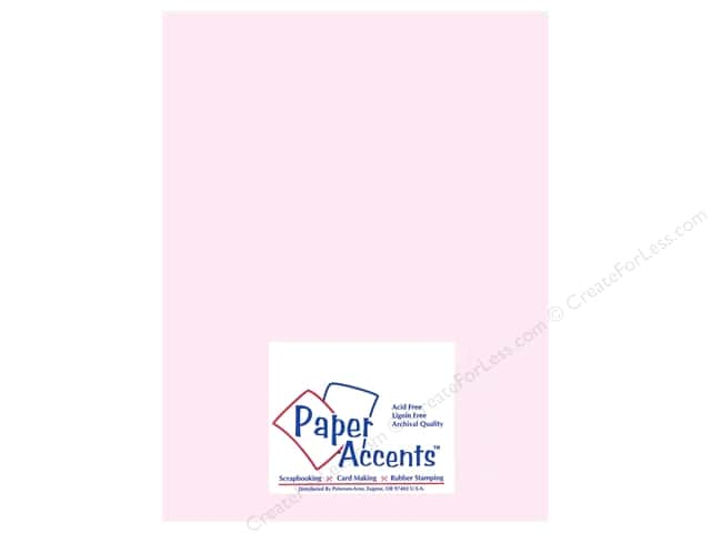 Vellum 8 1/2 x 11 in. #936 Light Pink by Paper Accents (25 sheets)