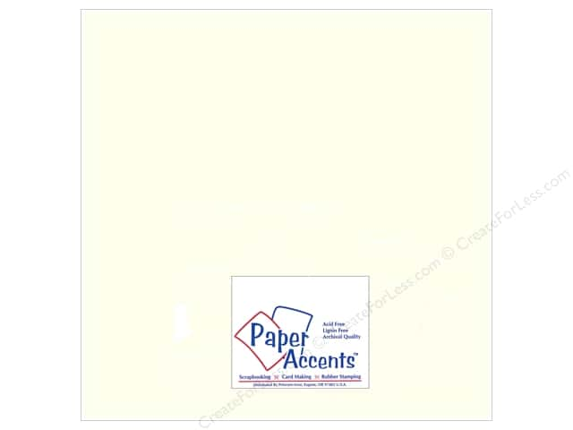 Pearlized Paper 12 x 12 in. #893 Pearl by Paper Accents (25 sheets)