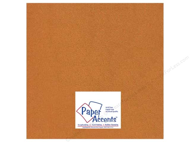 Paper Accents Pearlized Paper 12 x 12 in. #886 Copper (25 sheets)