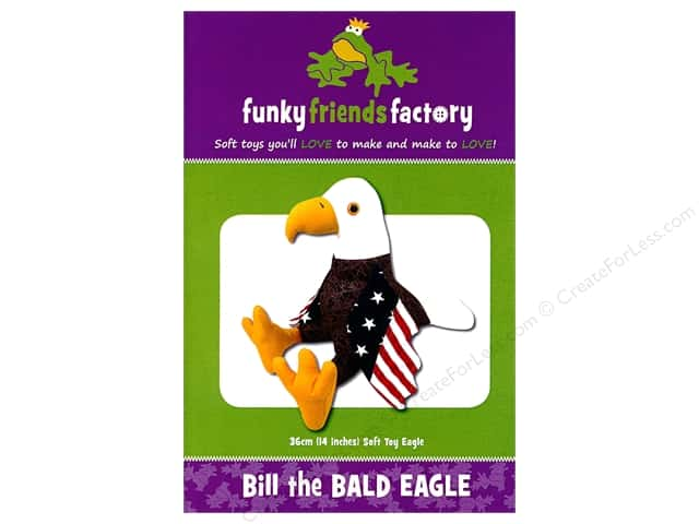 Funky Friends Factory Bill the Bald Eagle Pattern
