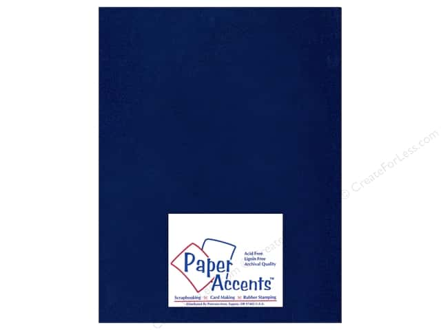 Paper Accents Pearlized Paper 8 1/2 x 11 in. #878 Lapis (25 sheets)