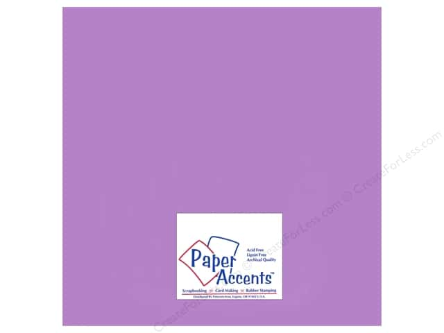 Paper Accents Pearlized Paper 12 x 12 in. #875 Amethyst (25 sheets)