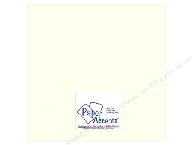 Paper Accents Cardstock 12 x 12 in. #893C Pearlized Pearl (25 sheets)