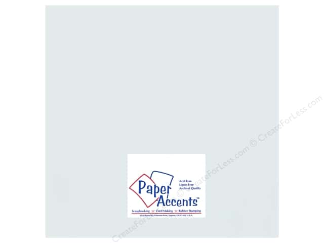 Cardstock 12 x 12 in. #896C Pearlized Nickel by Paper Accents (25 sheets)