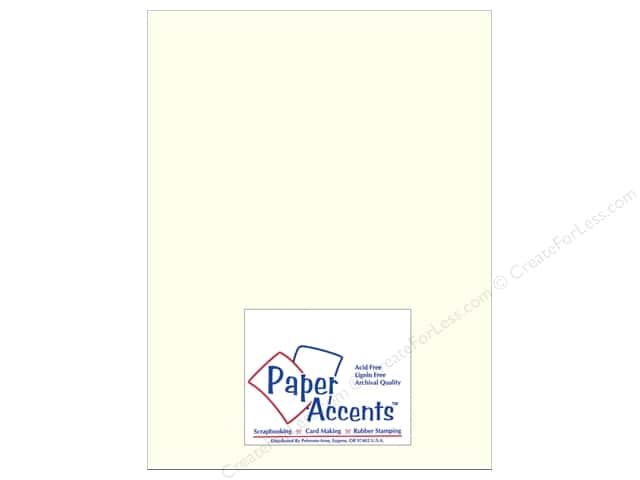 Paper Accents Cardstock 8 1/2 x 11 in. #893C Pearlized Pearl (25 sheets)