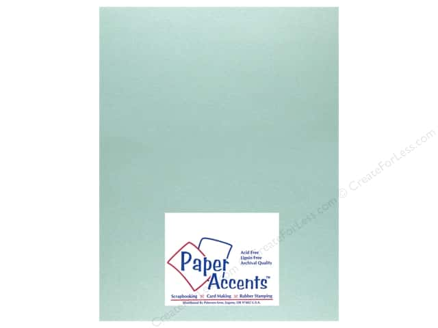 Pearlized Paper 8 1/2 x 11 in. #871C Delphinium by Paper Accents (25 sheets)