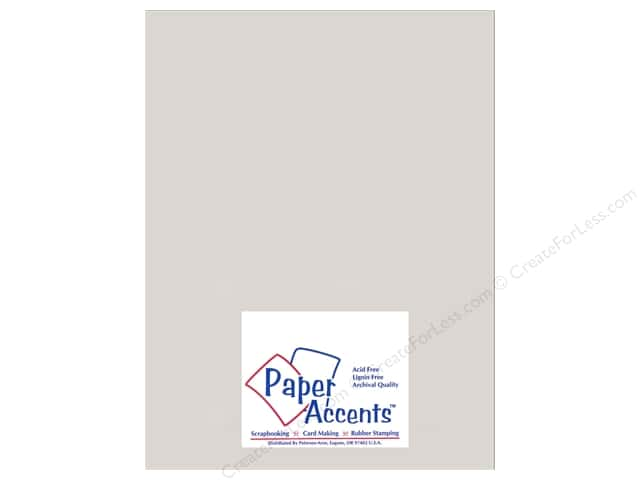 Paper Accents Cardstock 8 1/2 x 11 in. #895C Pearlized Silver (25 sheets)