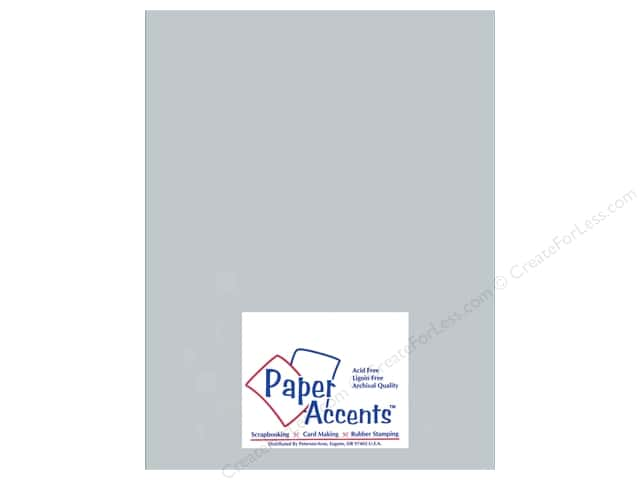 Cardstock 8 1/2 x 11 in. #897C Pearlized Slate by Paper Accents (25 sheets)