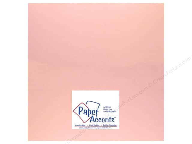 Pearlized Paper 12 x 12 in. #870 Primrose by Paper Accents (25 sheets)