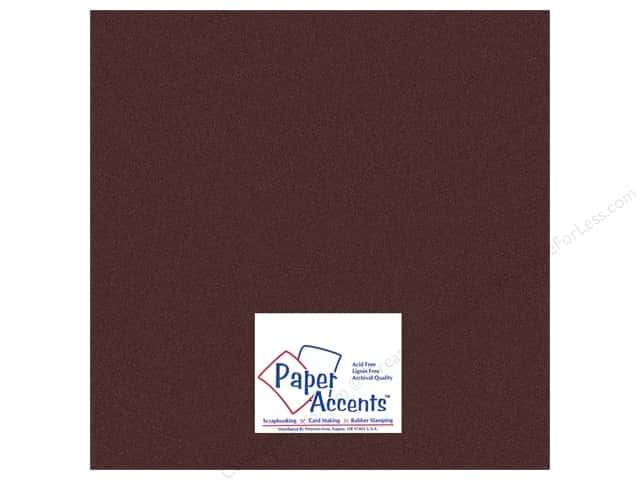 Pearlized Paper 12 x 12 in. #854 Bronze by Paper Accents (25 sheets)